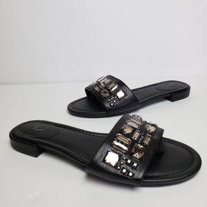 Simply Vera Vera Wang black sandals 6.5